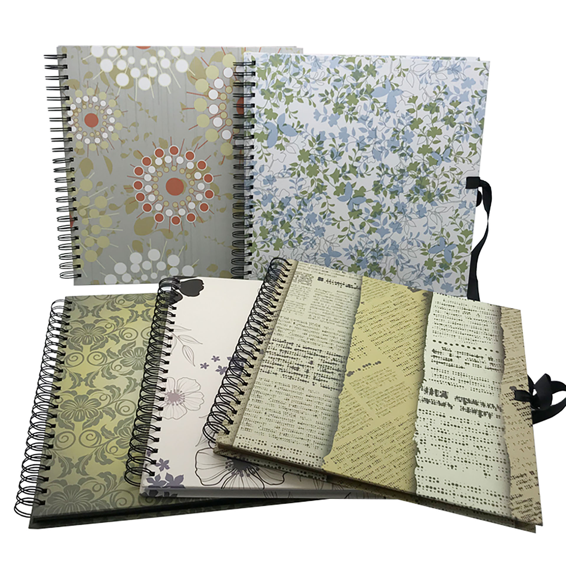 Scrapbook Albums in Printed Cover